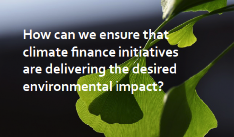 climate finance Innpact