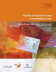 humanitarian crises